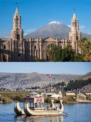Arequipa to Puno