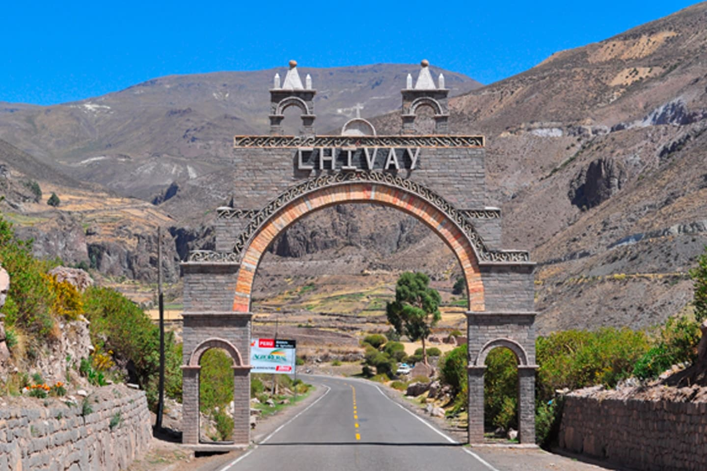 Chivay is a town in the Colca valley, capital of the Caylloma province in the Arequipa region, Peru. Located at about 12,000 ft above sea level, it lies upstream of the renowned Colca Canyon